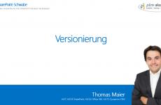 Elemente und Dateien Versionieren in SharePoint