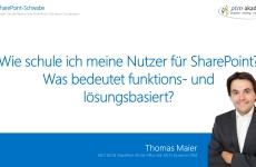 SharePoint User trainieren