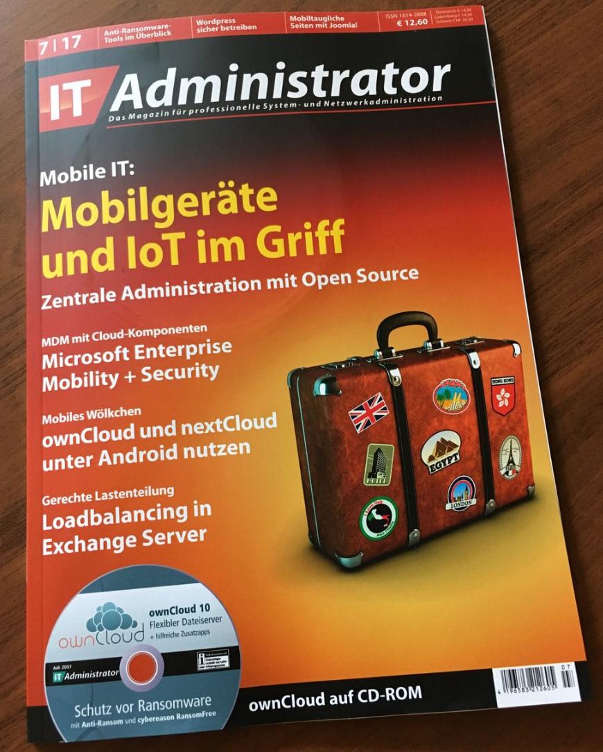 IT Administrator 07/2017