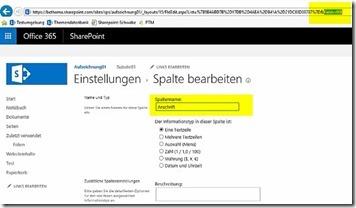 Tipp für SharePoint-Listen Auf Quickedit verzichten, um saubere Namen zu erzeugen_