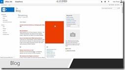 Wissens- und Informationsmanagement mit SharePoint - Blog